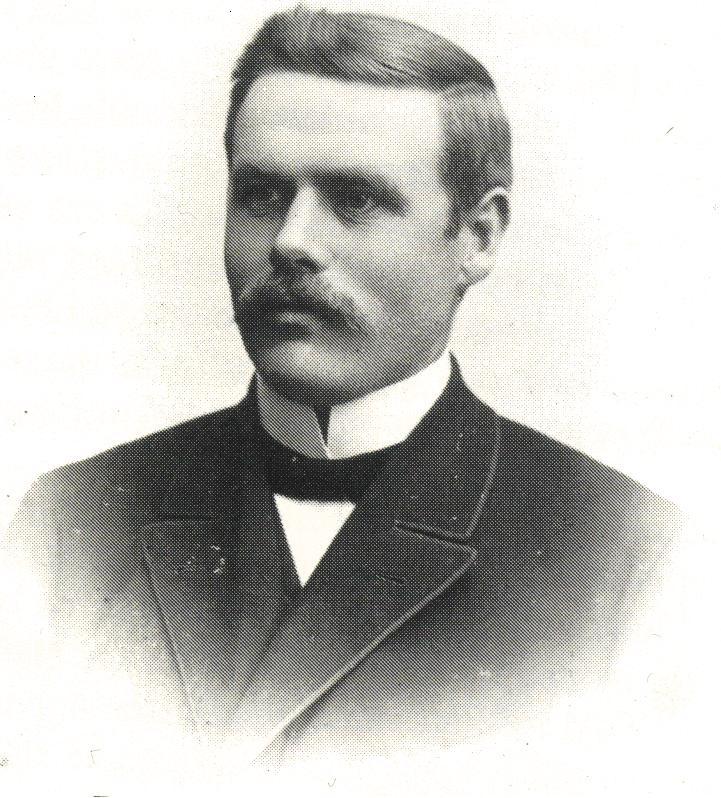 OttoLänsberg som ung baptistpredikant